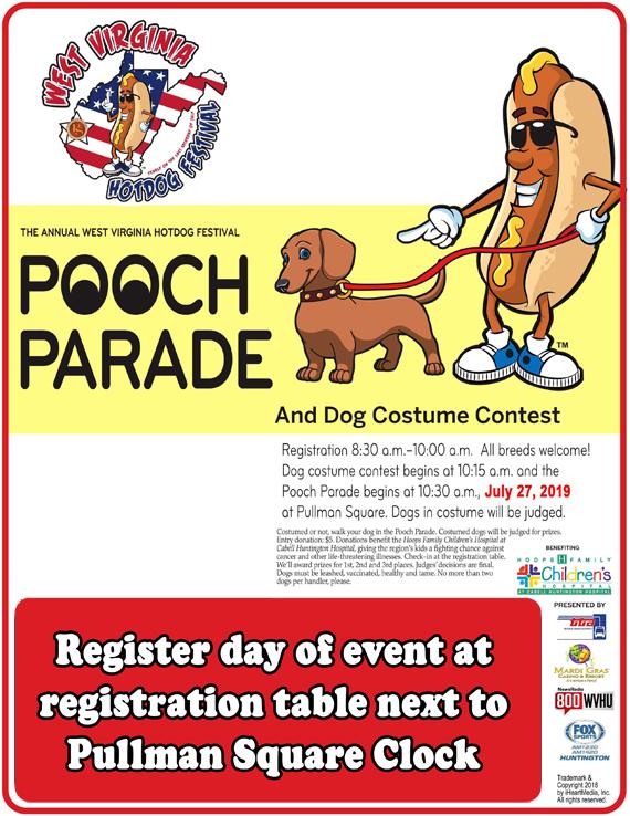 Pooch Parade/Dog Costume Contests - West Virginia Hot Dog